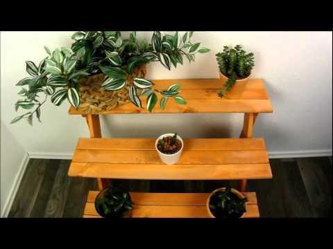 blumentreppe youtube. Black Bedroom Furniture Sets. Home Design Ideas