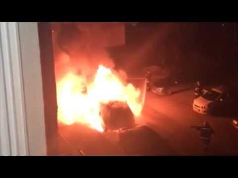 В Иванове сгорели две иномарки
