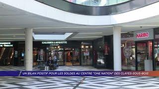 Yvelines | Un bilan positif pour les soldes au centre One Nation des Clayes-sous-Bois