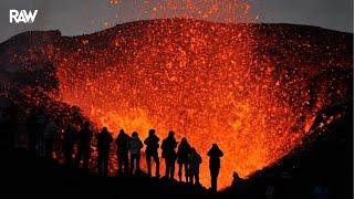 🌋 J'ai filmé le Volcan Islandais en Éruption...Vous allez HALLUCINER !