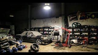 Сумасшедший УЗЕТНЫЙ гараж, где свапят V8!! HANGAR 18