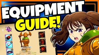 This seven deadly sins: grand cross equipment guide will include everything you need to know about gear get through the early stages of game. time...