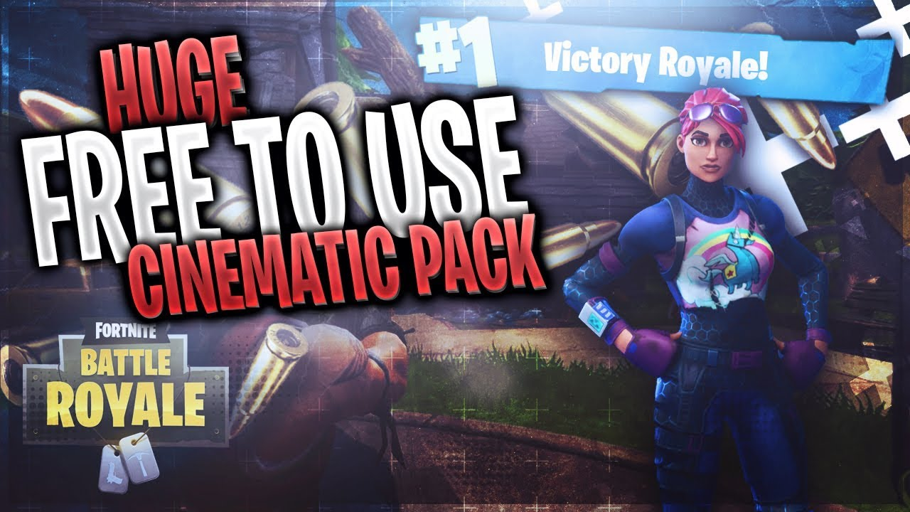 Huge Free To Use Cinematics Pack For Fortnite