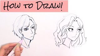 *How to draw 3/4th