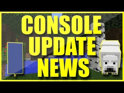 Minecraft TU43 Update News New Blocks, Polar Bears, Banners and more!