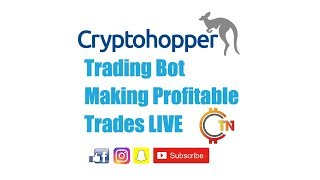 Watch This Cryptocurrency Trading Bot Make Profitable Bitcoin Trades LIVE!