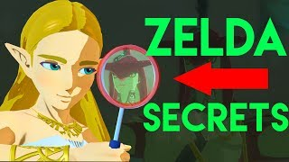 10 Zelda Breath of the Wild Secrets!