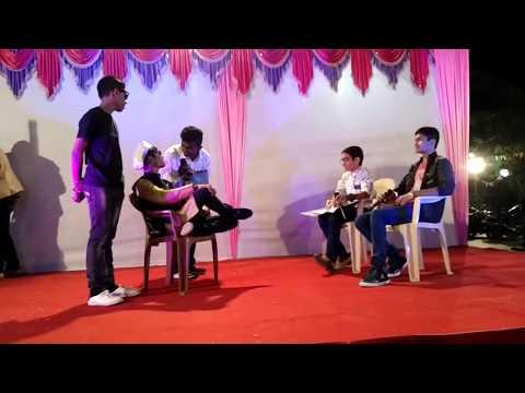 26 January Comedy Drama, Netaji, By Vaibhav Raval & Group On Republic Day Celebration, Skit