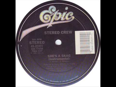 Stereo Posse - She's A Skag 1986 VERY RARE ICE CUBE & K DEE