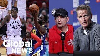 NBA Finals: Raptors vs Warriors press conference