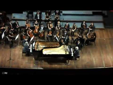 Argerich-Barenboim: Bailecito de Guastavino-Homenaje a Pía Sebastiani