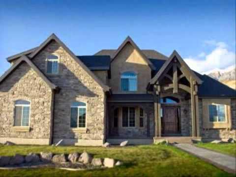 แบบสีทาบ้านสีฟ้า การสร้างแปลนบ้าน