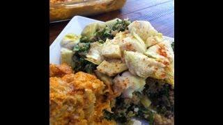 Quinoa, Kale & Artichoke Salad