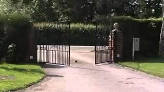 видео Приводы для распашных ворот Came Frog