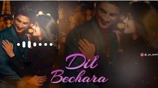 Instrumental Ringtone | Dil Bechara mp3 Ringtone Download Now||