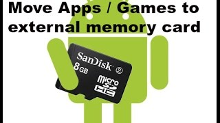 2 ways to move game apps to sd memory card: insufficient storage error fix
