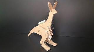 Cómo Hacer un Robot Canguro de Cartón