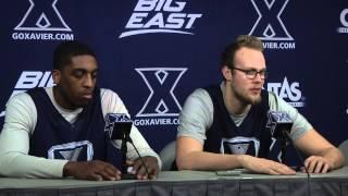 Xavier Press Conference: James Farr, Matt Stainbrook (2-20-15)
