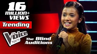 Sahangi Hansanjali | Kiththane (කිත්තානේ) | Blind Auditions | The Voice Teens Sri Lanka