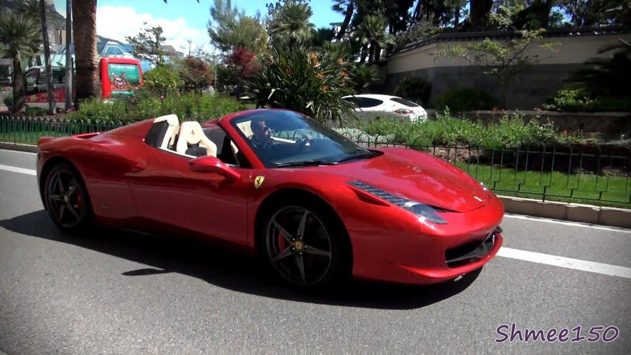 Ferrari 458 Spider - Stunning Dark Red - Startups and ...  Ferrari 458 Spider Red
