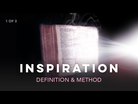 inspiration definition bible