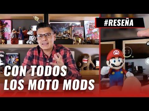 Moto Z, 5 celulares en 1, review en español