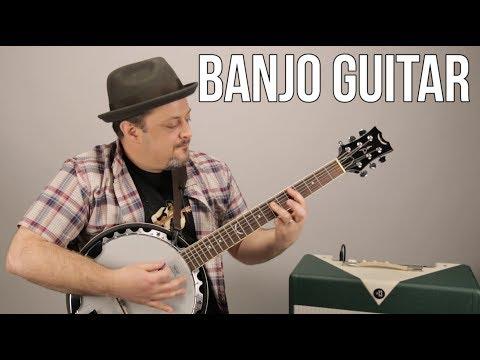 Banjo Guitar  Dean  Marty Music Gear Thursday, Acoustic Guitar Banjo