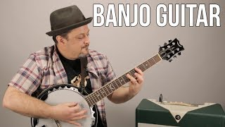 Banjo Guitar by Dean - Marty Music Gear Thursday, Acoustic Guitar Banjo