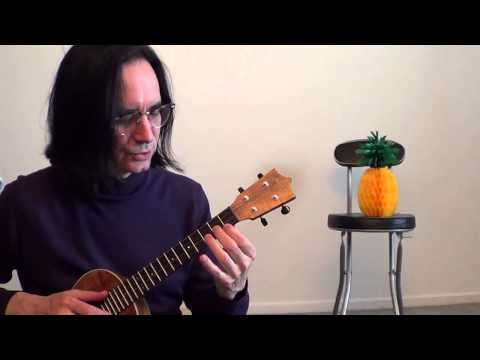 Spider Scales Tutorial for the Ukulele (warm up exercises)