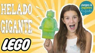 HELADO GIGANTE DE LEGO ¡MUY FÁCIL! // Juegos y Juguetes en Familia