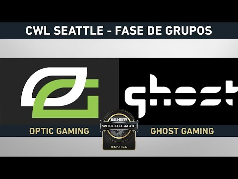 OPTIC GAMING VS GHOST GAMING - FASE DE GRUPOS - #CWLSEATTLELVP