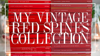 My Vintage Red Spines Collection | The Book Castle