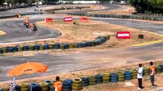 KTM orange day hyderabad. Final Race 1