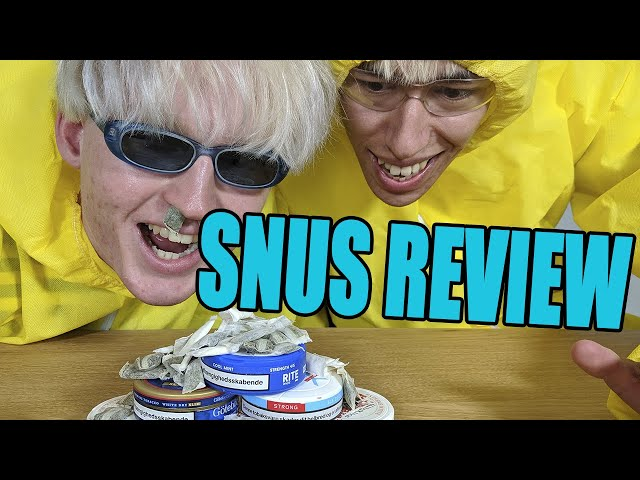 SNUS REVIEW 2019