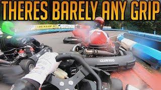 Kart Racing With Almost Zero Grip