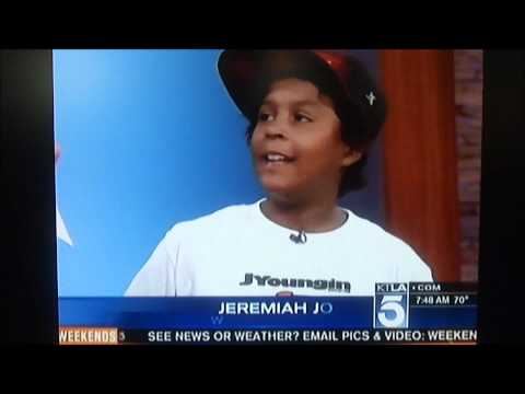 "KTLA Channel 5 News interviews 10 Million Dollar Kid Sensation ""JYoungin Education"""