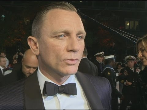 Skyfall premiere: Daniel Craig talks lucky pants and bromance with Javier Bardem