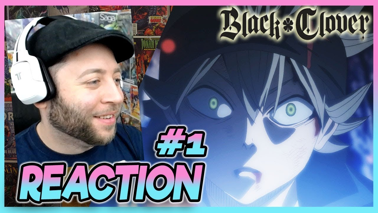 Black Clover Episode 1 REACTION