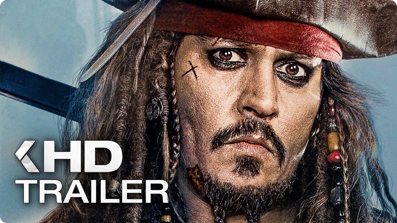 PIRATES OF THE CARIBBEAN: Dead Men Tell No Tales ALL Trailer & Clips (2017)