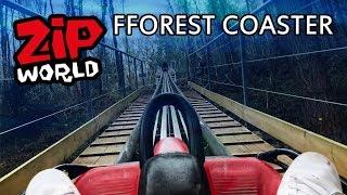 Zip World Wales FForest Alpine Roller Coaster UK