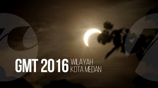 Gerhana Matahari Total 2016, Wilayah Kota Medan Gelap