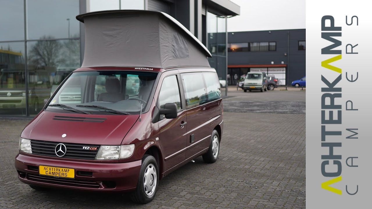 mercedes vito 112cdi marco polo youtube. Black Bedroom Furniture Sets. Home Design Ideas