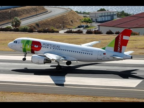 Spotting at Madeira Airport, Santa Cruz (FNC/LPMA) 19.08.2014 part1