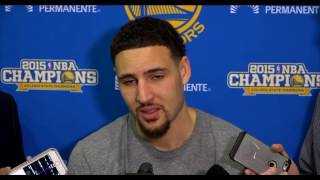 Klay Thompson REFLECTION following GAME 7 LOSS TO CAVS (2016)