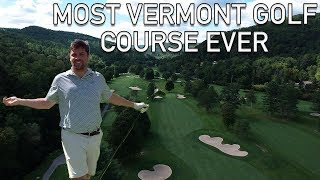 Playing The Oldest Golf Course In Vermont - Woodstock Country Club 9th Hole