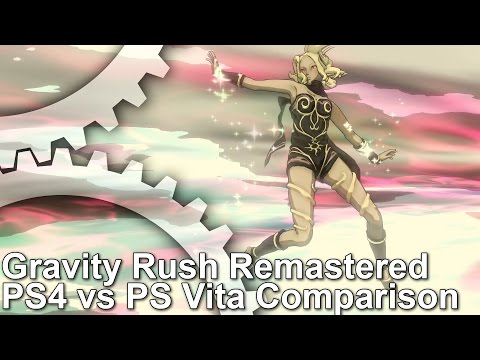 Gravity Rush Remastered PS4 vs PS Vita Graphics Comparison