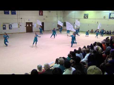 2015 Old Mill High School Winter Guard Pikesville Middle School Exibition