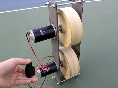 Tennis ball machine diy part 1 youtube