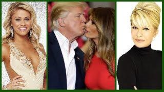 Donald Trump Present Wife & Ex - Wives    Ivana    Marla    Melania