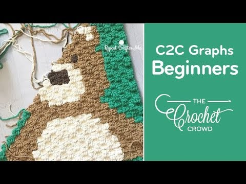 How To Crochet Corner To Corner C2c Graphghans For Beginners Youtube